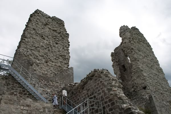 towers of the castle